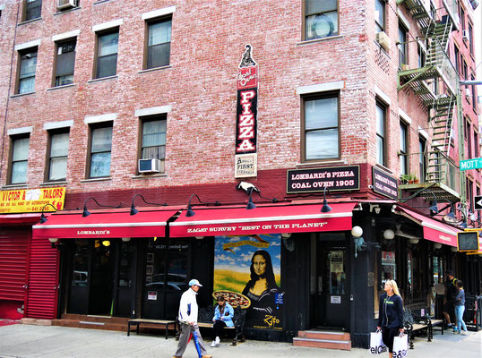 New York Geheimtipps : Lombardi's Pizzeria