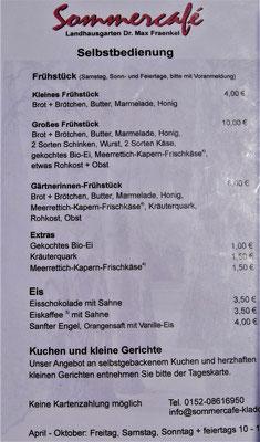 Berlin Reiseblog: Sommercafé Landhausgarten