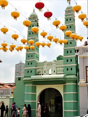 Chinatown Singapur Sehenswürdigkeiten Jamae Moschee