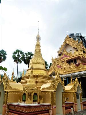 Penang Reisebericht Burmese Buddhiest Tempel