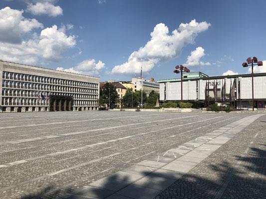 Ljubljana Tipps Platz der Republik