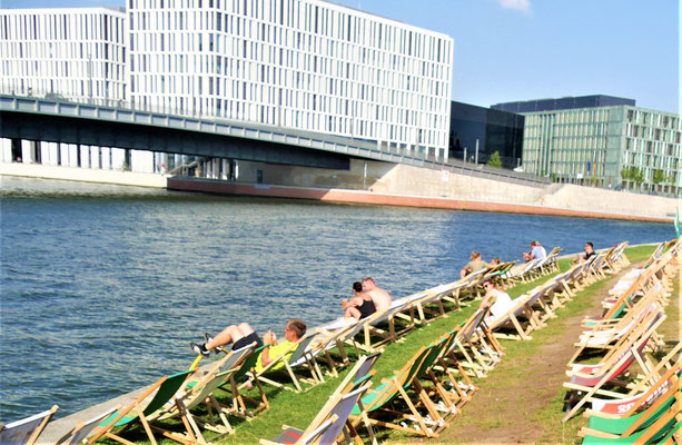 Berlin where to go: Capital Beach