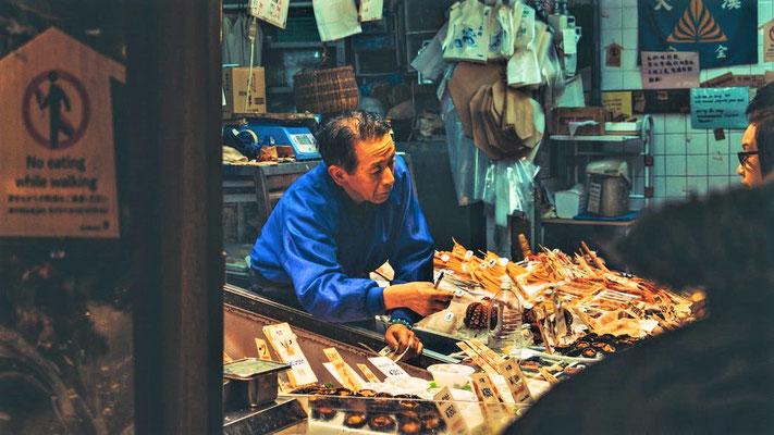 Kyoto Japan Sehenswürdigkeiten Nishiki Markt