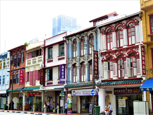 Singapur Chinatown Upper Cross Street