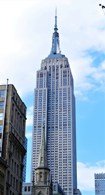 Orte in New York City   : Empire State Building
