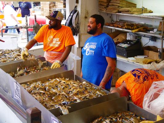 washington reise fish market