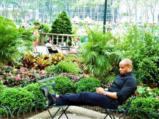New York Parks Bryant Park