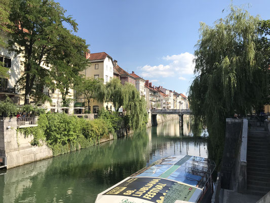 Ljubljana Reiseblog Bootstour