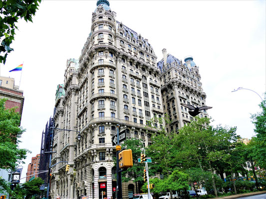 Orte in New York City : The Ansonia
