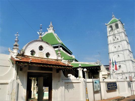 Reiseführer Malakka Malaysia Masjid Kampung Kling