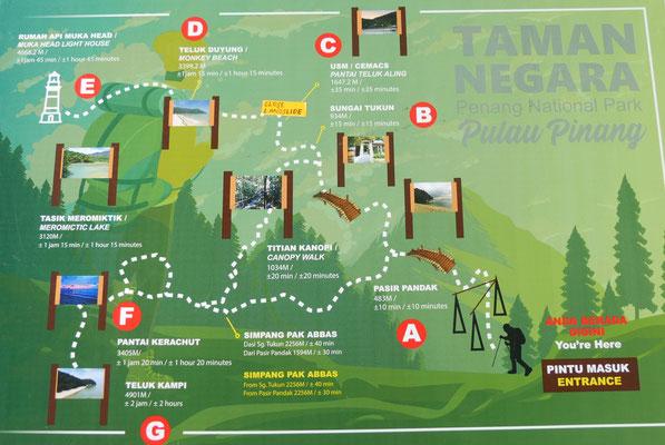 Penang Reisebericht Nationalpark