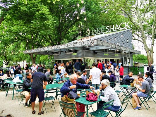 New York Geheimtipps : Shake Shack