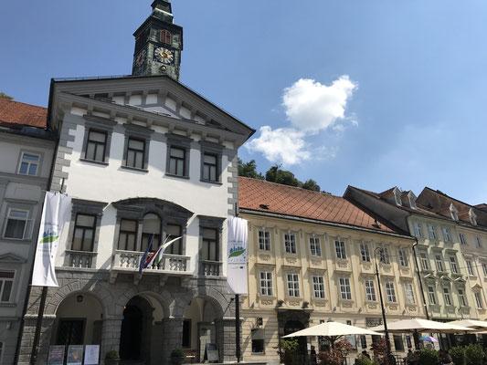 Ljubljana Sehenswürdigkeiten Rathaus