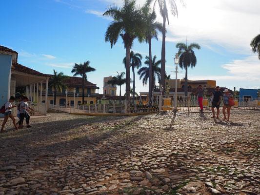 Trinidad Kuba Reisebericht Plaza Mayor