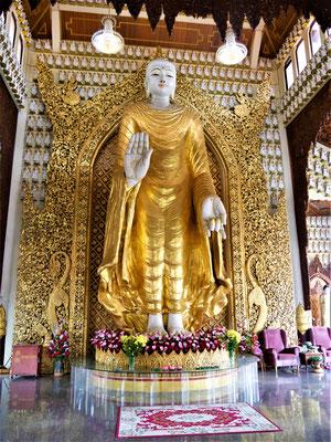 Penang Reise TIpps Burmese Buddhiest Tempel