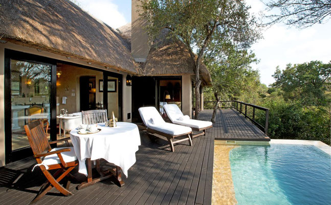 Safari Lodges Südafrika Thornybush Game Reserve