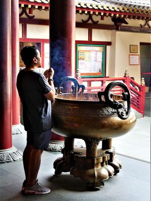 Singapur Chinatown Buddha Tooth Relic Tempel