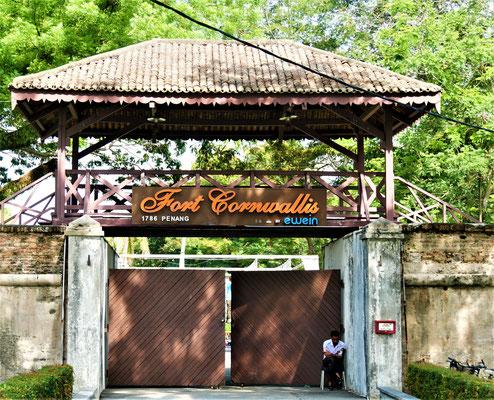 Georgetown Malaysia Sehenswürdigkeiten Fort Cornwallis