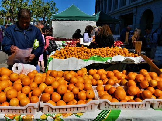 San Francisco Reisetipps farmers market