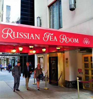 New York Geheimtipps Russian Tea Room