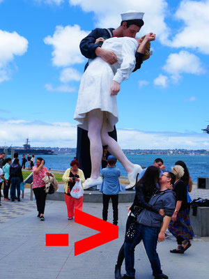 San Diego Reiseblog Unconditional Surrender