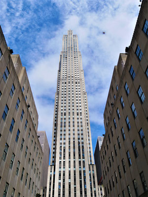 Orte in New York City : Rockefeller Center