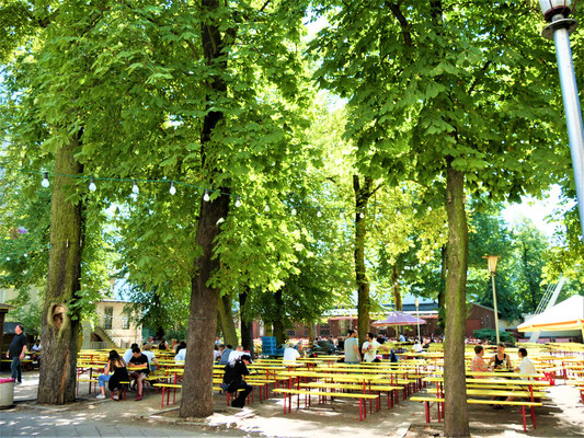 Berlin where to go: Prater Garten
