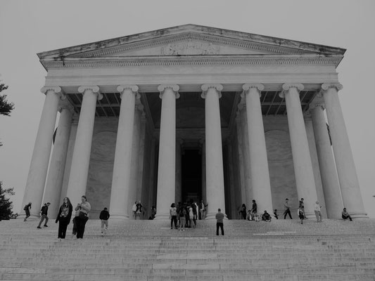 washington tipps jefferson memorial