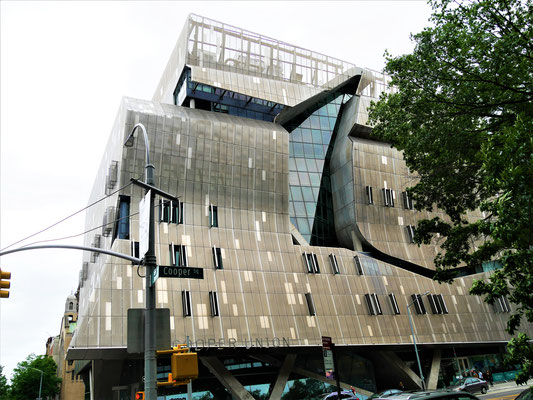 New York Tipps: Cooper Union Building