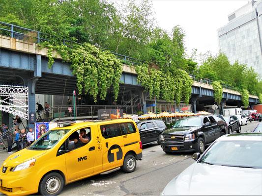 New York Plätze  High Line Park