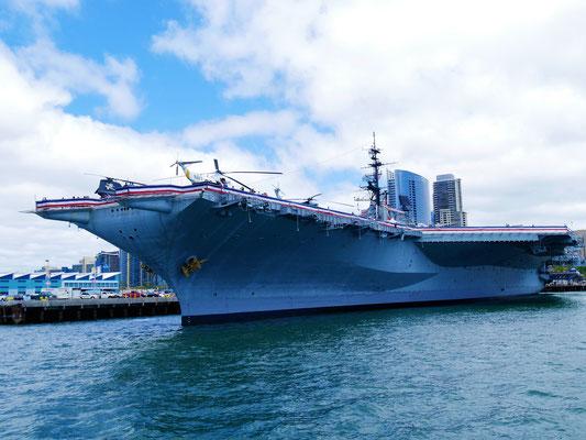San Diego Sehenswürdigkeiten USS Midway