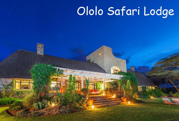 Kenia Safari Lodge Luxus - Ololo Safari Lodge