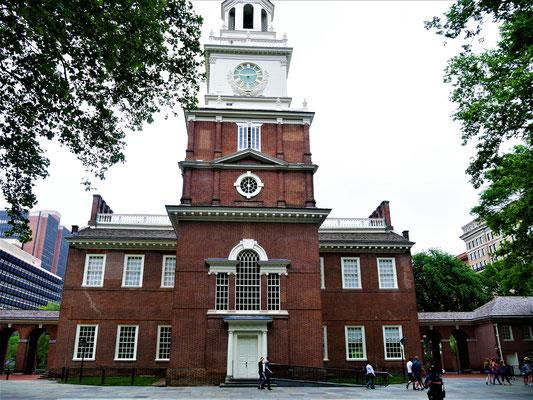 Philadelphia Tipps Independence Hall