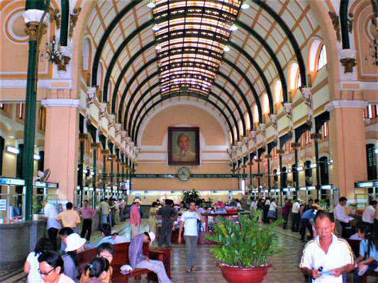 Ho Chi Minh City Reisetipps Hauptpostamt