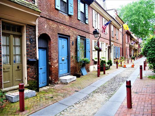 Philadelphia Tipps Elfreth's Alley