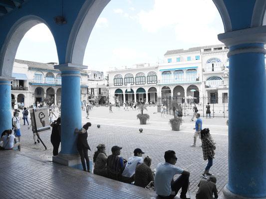 Kuba Havanna Urlaub Plaza de la Catedral