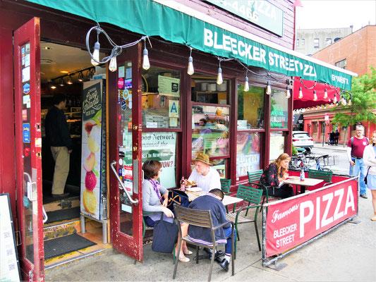 New York Sehenswürdigkeiten: Bleecker Street Pizza