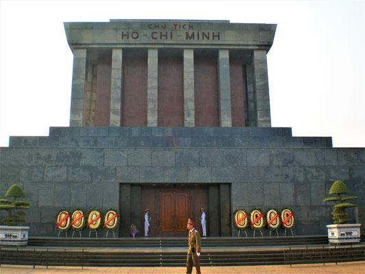 Hanoi Blog Mausoleum von Ho Chi Minh