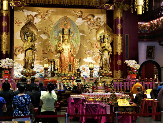 singapur chinatown tempel Buddha Tooth Relic Tempel