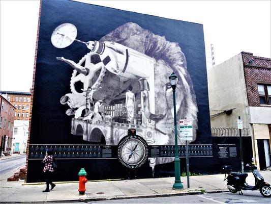 Philadelphia Reisen Street Art