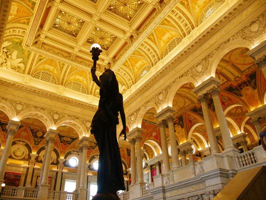 Washington Reise Library of Congress