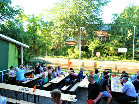 Berlin Reiseblog: Biergarten Schleusenkrug