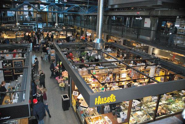 Oslo Reiseblog Markthalle