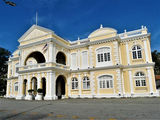 Georgetown Penang Reisebericht Town Hall