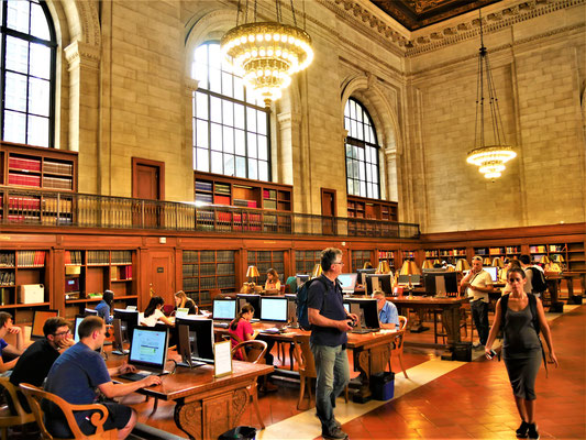 hohe gebäude new york: Public Library