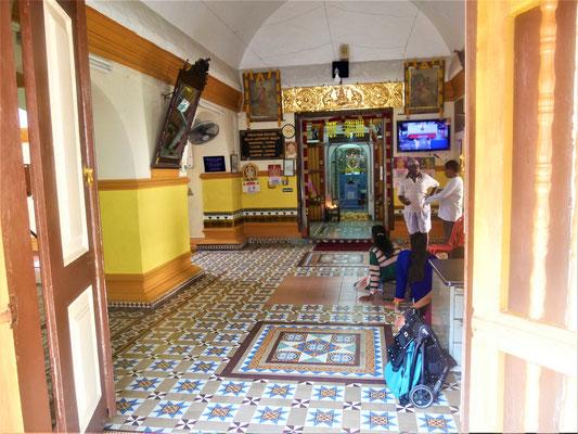 Malakka Unterkunft und Hotel Empfehlung Sri Poyyatha Vinayaga Tempel