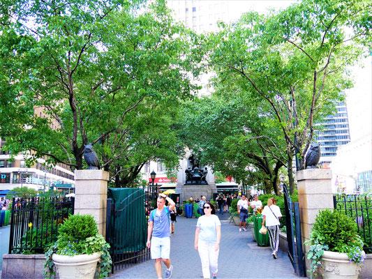 Bekannte Plätze in New York City Herald Square