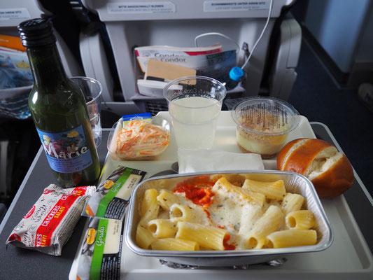 lange Flugreisen Tipps -  das richtige Essen