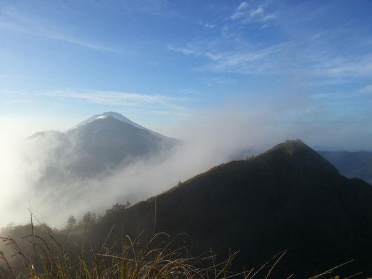Mount Batur Bali Trekking Sonnenaufgang auf dem Berg