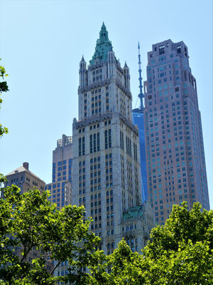 Orte in New York City  : Woolworth Building